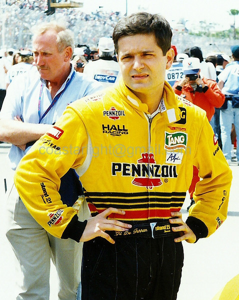 Gil de Ferran - 1995 Long Beach GP