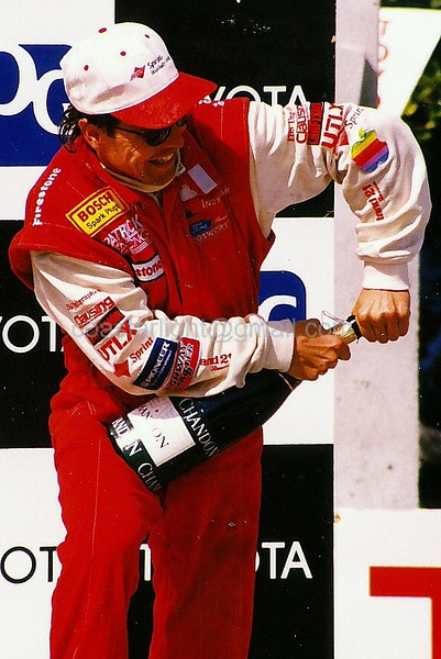 Scott Pruett - 2nd place, 1995 Long Beach GP