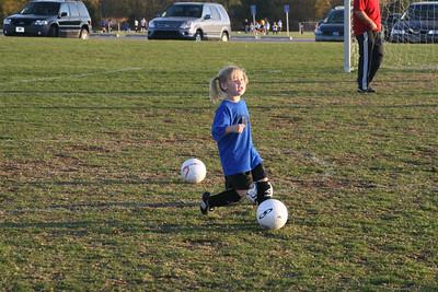 1st Grade Soccer Fall 2007