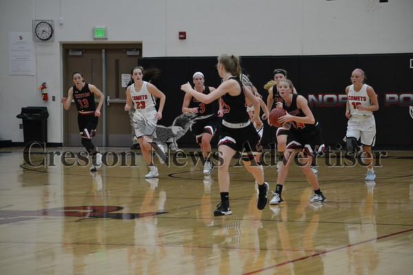 2-13 Creston-North Polk girls regional basketball
