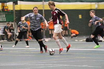 2-23-18 indoor soccer under-16 boys Spearfish vs Sturgis Wreck