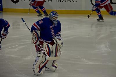 2-7-13 Rangers 4, Islanders 1, MSG