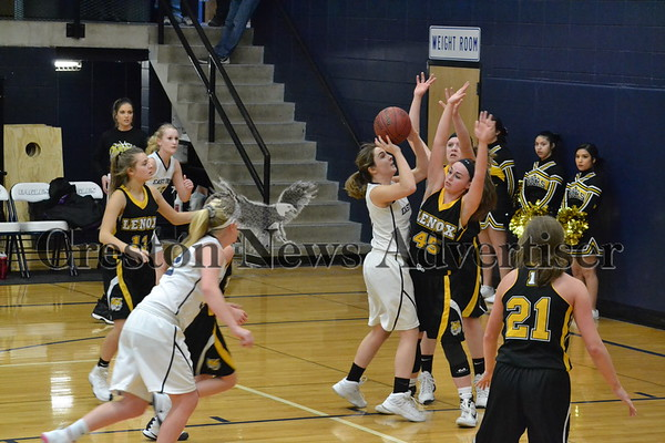 2-9 East Union-Lenox girls basketball