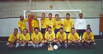 INDOOR CHAMPIONS.  Back in 2000, there was no Fall and Winter Session and no divisions, just a single Champion.