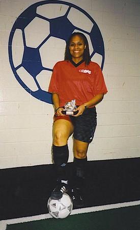 FALL INDOOR SCORING CHAMPION - Marsha Sinclair (RED HEAT) - 20 goals