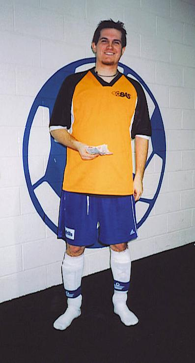 FALL INDOOR SCORING CHAMPION - Frank Kukolic (19 goals)