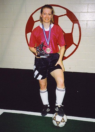 WINTER INDOOR CHAMPIONSHIP GIRL-OF-THE-GAME - Carolyn Arthur (RED HEAT)