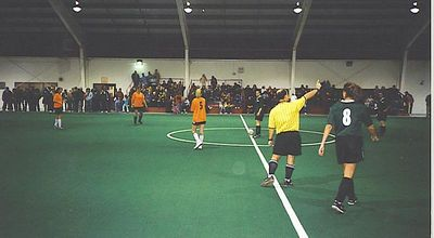 """STANDING ROOM ONLY"" - Women's Fall Indoor Championship Kick-Off - Jan 18/03"