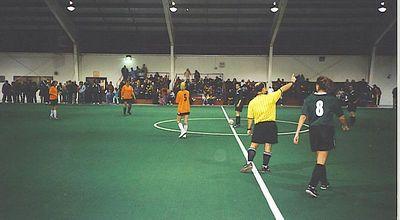 """STANDING ROOM ONLY"" - Women's Fall Indoor Championship Kick-Off - Jan 18/03"