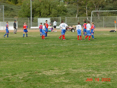 Casey Soccer Playoffs 1/19/2002