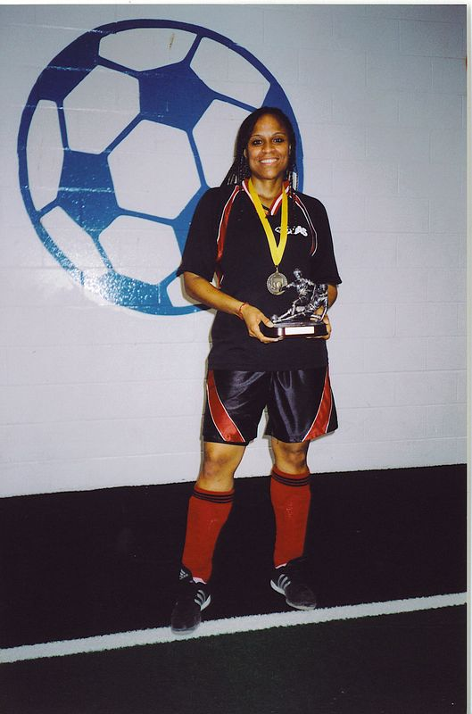 FALL INDOOR DIVISION I CHAMPIONSHIP GIRL-OF-THE-GAME - Marsha Sinclair (UNITED BLACK DEVILS)