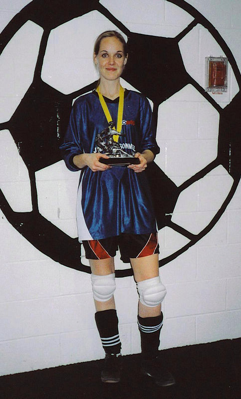 FALL INDOOR DIVISION II CHAMPIONSHIP GIRL-OF-THE-GAME - Amy Farrugia (SNOWBALL STRIKERS)