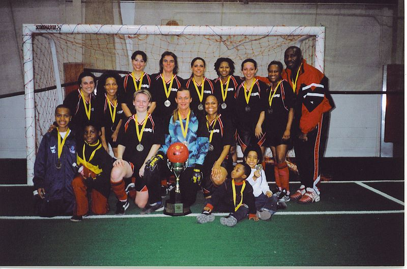 2003 FALL INDOOR DIVISION I CHAMPIONS - UNITED BLACK DEVILS