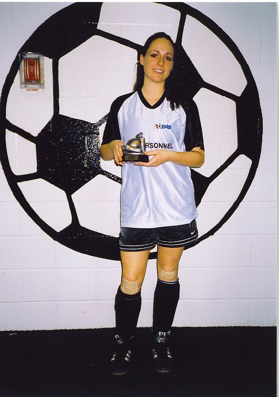 FALL INDOOR DIVISION II SCORING CHAMPION - Sarah Bruno (SNOWBALL STRIKERS) - 7 goals