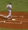 First run of the game by the Brewers, top of the 2nd
