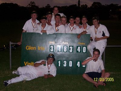 2004/05 One Day XI Grand-Final LOC 3 Synthetic