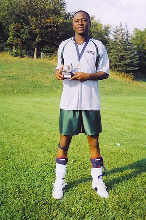 OUTDOOR DIVISION II SCORING CHAMPION - Tony Duah (TEAM B FC) - 23 goals