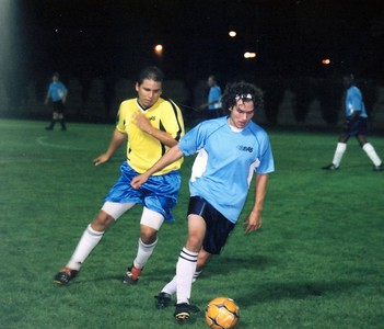 RICHVIEW UTD vs. SUPER STRIKERS - Fernando Vera(l), Chris Avramidis(r) - DIVISION I CUP FINAL