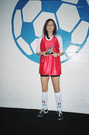 WINTER INDOOR DIVISION I SCORING CHAMPION - Kristina Bojkovski (RED DRAGONS) - 9 goals