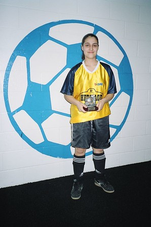 WINTER INDOOR DIVISION II SCORING CHAMPION - Joanne DeSousa (GOLDEN ROCKETS) - 9 goals