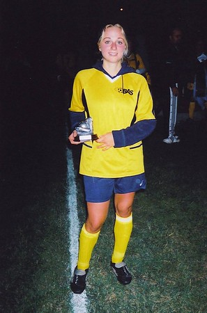OUTDOOR DIVISION II SCORING Co-CHAMPION - Tammy Borges (GOLDEN ROCKETS) - 20 goals