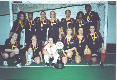 FALL INDOOR DIVISION I CHAMPIONS - UNITED BLACK DEVILS