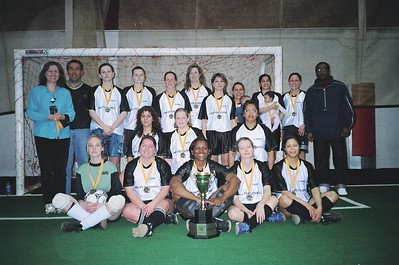 WINTER INDOOR DIVISION II CHAMPIONS - SNOWBALL STRIKERS