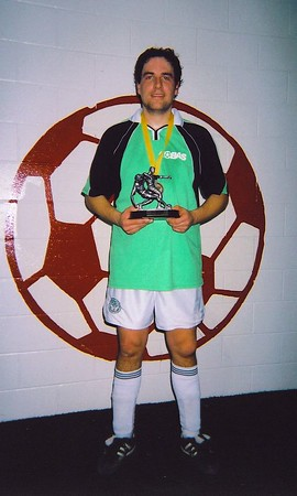 FALL INDOOR DIVISION II CHAMPIONSHIP MAN-OF-THE-MATCH - Damian Higgins (BRAMPTON R.C.F.C.)