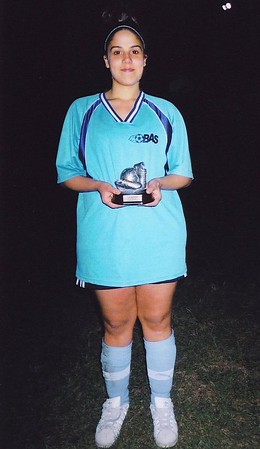 OUTDOOR DIVISION II SCORING Co-CHAMPION - Kimberly Ledo (BLUE SHOOTERS) - 20 goals