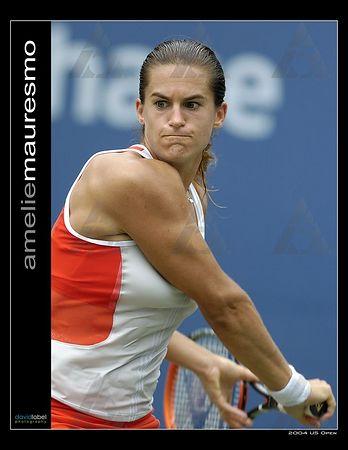 2004 US Open - Amelie Mauresmo [FRA]