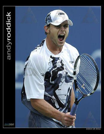 2004 US Open - Andy Roddick [USA]
