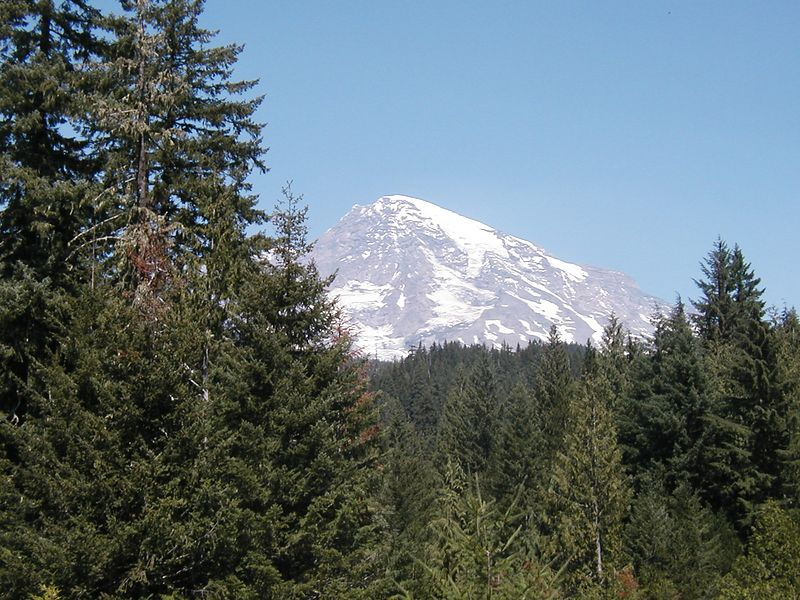 MOUNT RANIER (Before the start of the trip)