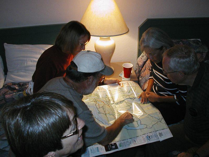 Aug. 21. SHELTON MAP READING (KEN'S ROUTES AREN'T ALWAYS OPTIMAL)