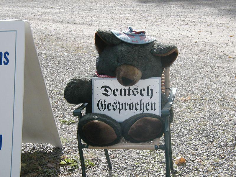 Aug. 17. GERMAN IS SPOKEN IN THE HO RAIN FOREST