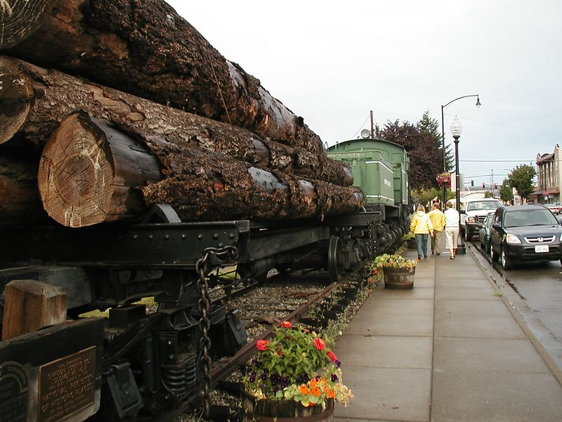 Aug. 21. SHELTON AND ITS HISTORICAL LOGGING TRAIN
