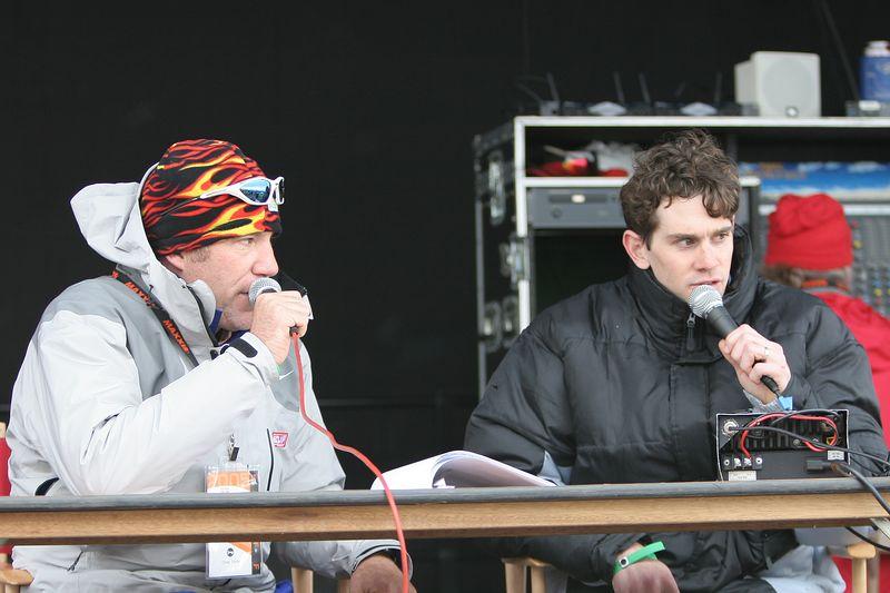 USA, Georgia, GA, Brasstown Bald, Tour de Georgia , Stage 5, Finish Line, Commentators