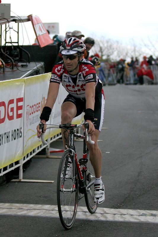 USA, Georgia, GA, Brasstown Bald, Tour de Georgia , Stage 5, Finish Line, Bobby Julich