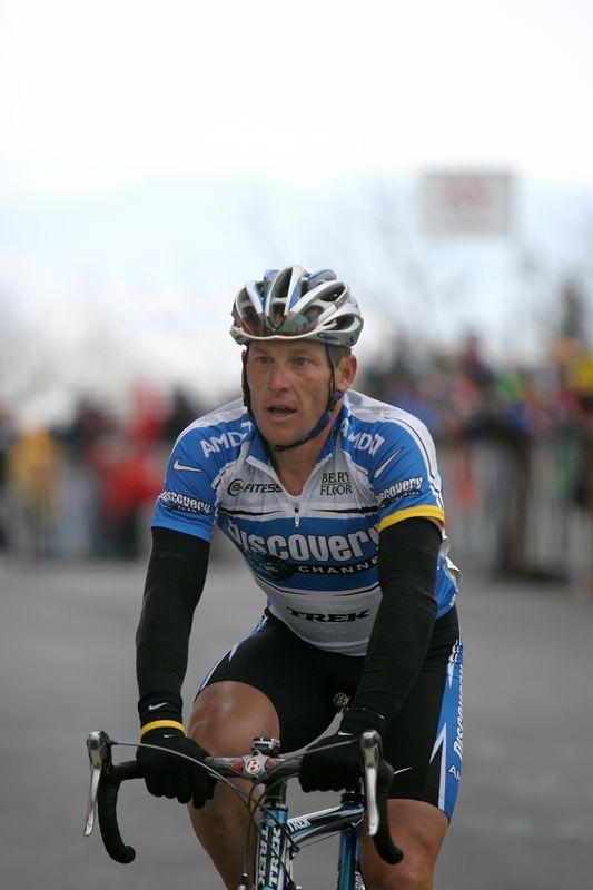 USA, Georgia, GA, Brasstown Bald, Tour de Georgia , Stage 5, Finish Line, Lance Armstrong