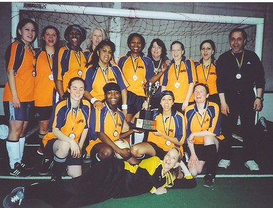 WINTER INDOOR DIVISION II CHAMPIONS - STRIKERS