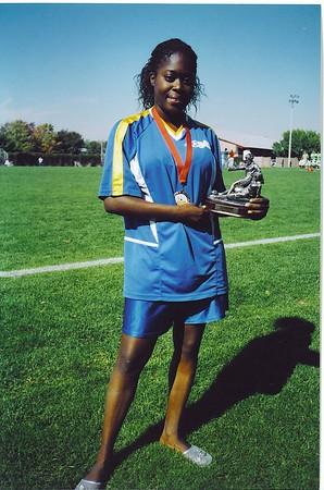 DIVISION II CHAMPIONSHIP GIRL-OF-THE-GAME - Huda Joseph (BLUE BAYOU)