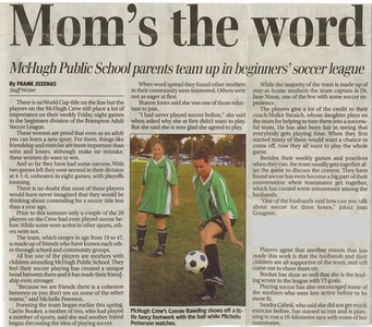MCHUGH CREW - DIVISION III article from Brampton Guardian - August '05
