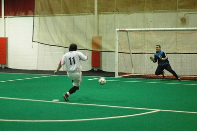 WINTER INDOOR DIVISION I CHAMPIONSHIP FINAL - BARCELONA vs. ARMADA I - Rick Fonseca penalty kick