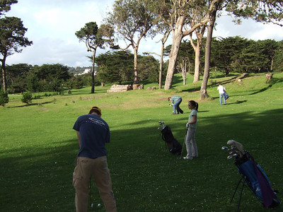 2006-11-25 Golfing at Golden Gate Park