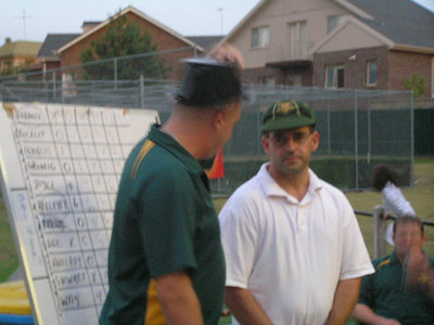 2006/07 Most Valuable Player  Vote Count Night 3/3/2007 Shane Kelly announces Jamie Barrance( Joint winner with Michael Kelleher) as MVP of the 3rd XI