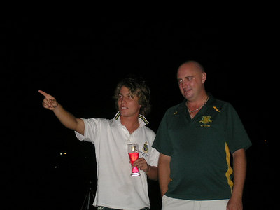 2006/07 Most Valuable Player  Vote Count Night 3/3/2007 Brett tells Shane its time to go home