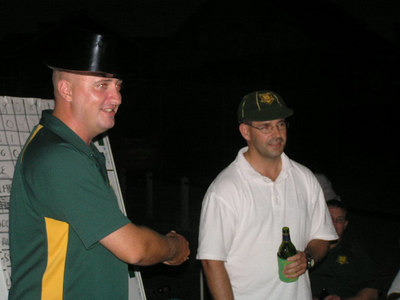2006/07 Most Valuable Player  Vote Count Night 3/3/2007 Shane Kelly announces Jamie Barrance ( Joint winner with Michael Kelleher) as MVP of the 3rd XI