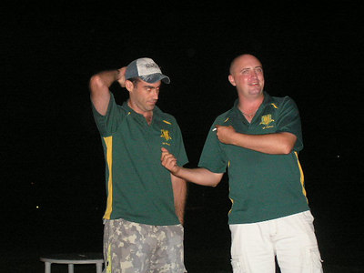 2006/07 Most Valuable Player  Vote Count Night 3/3/2007 Mark Purcell( Joint 1st XI MVP) gets interviewed by Shane Kelly
