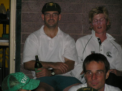 2006/07 Most Valuable Player  Vote Count Night 3/3/2007 Jamie Barrance with a smile (I think)