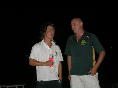 2006/07 Most Valuable Player  Vote Count Night 3/3/2007 Brett is giving Shane some good advice about how to improve his batting