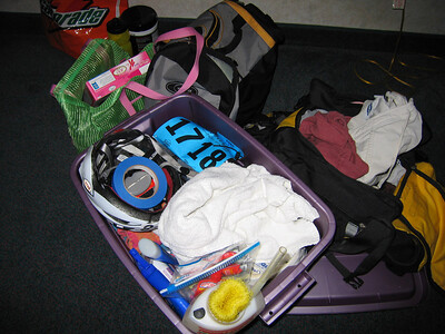 Tri-kit ready to go